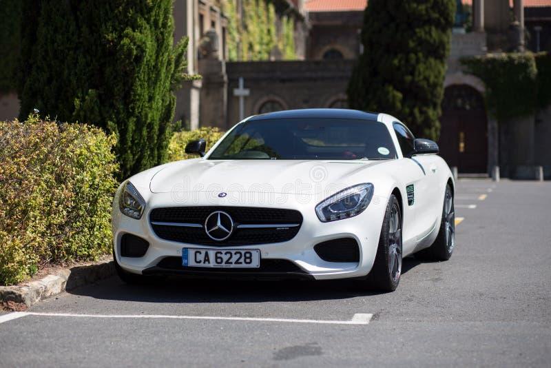 Carro de esportes de Mercedes Benz AMG GT foto de stock