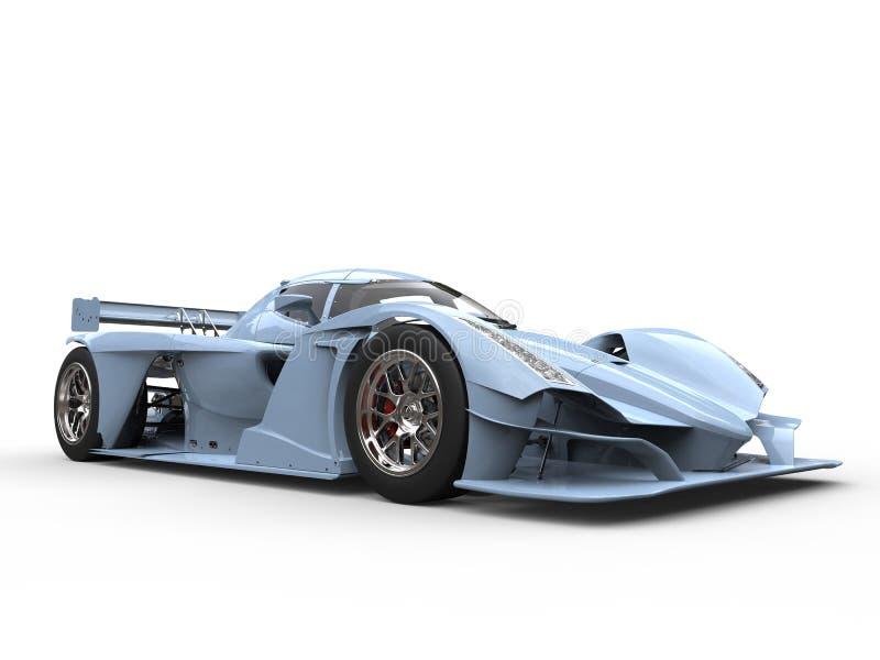 Carro de esportes super dos azuis marinhos claros ilustração royalty free