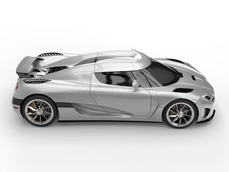 Carro de esportes super luxuoso absoluto ilustração royalty free
