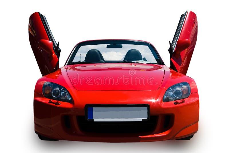Carro de esportes vermelho fotos de stock royalty free
