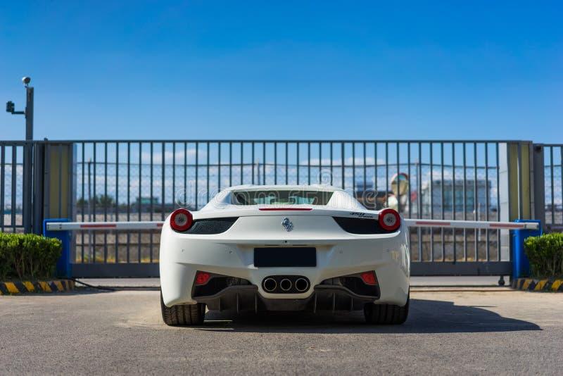 Carro de Ferrari foto de stock