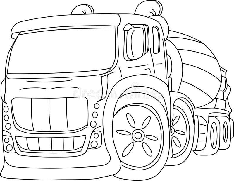 Carro de la agitación ilustración del vector