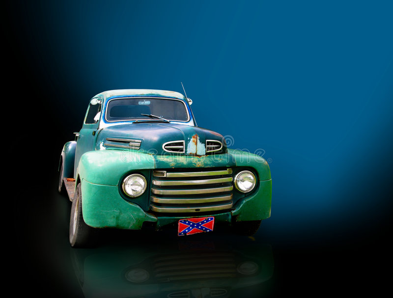 Carro de la antigüedad o de la vendimia fotografía de archivo