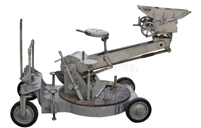 Carro de la cámara de película de la vendimia aislado imagen de archivo