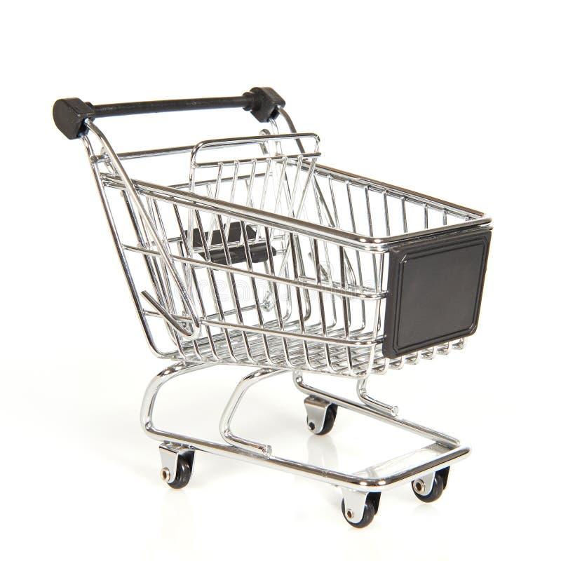 Carro de la compra vacío fotos de archivo