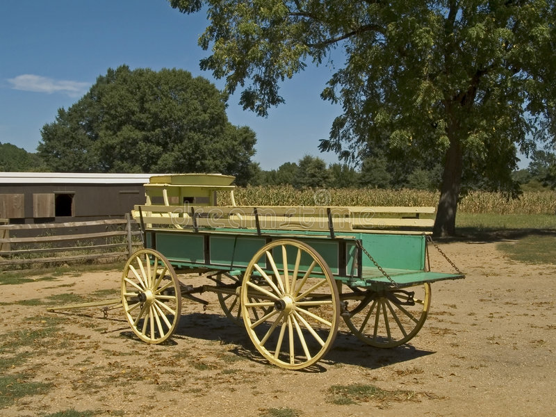 Carro de la granja fotos de archivo