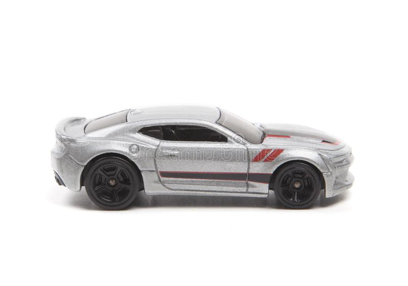 Carro de metal cinzento imagens de stock royalty free