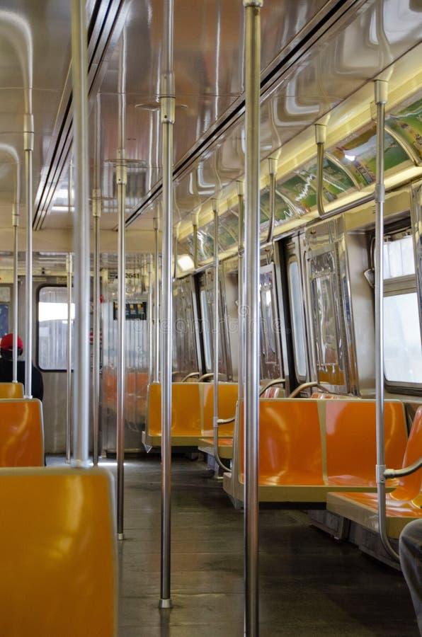 Carro de metro imagem de stock