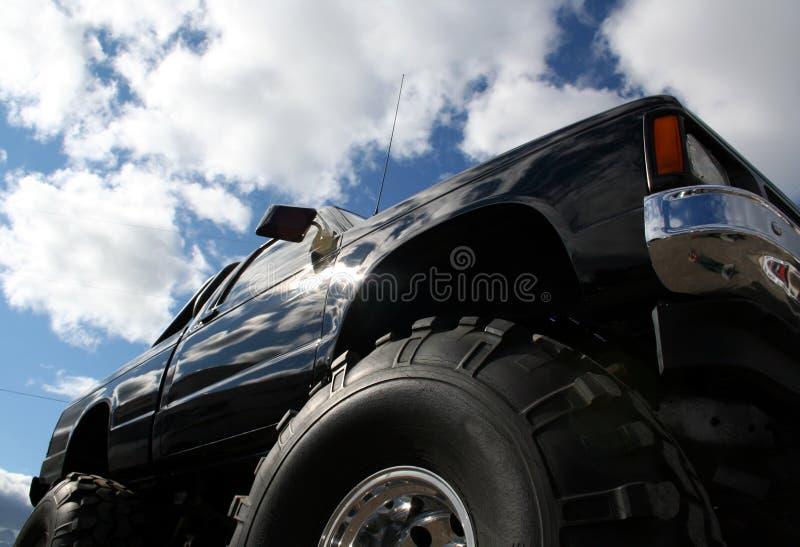 Carro de monstruo fotos de archivo