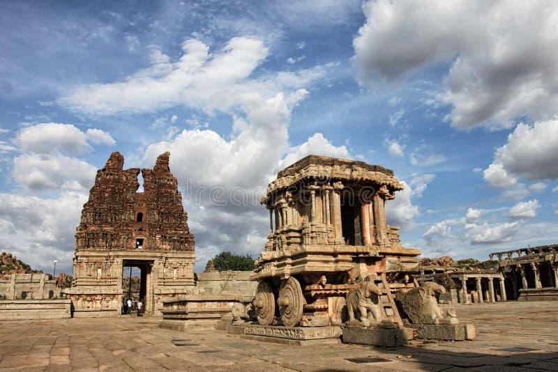 Carro de piedra de Sothern la India imágenes de archivo libres de regalías