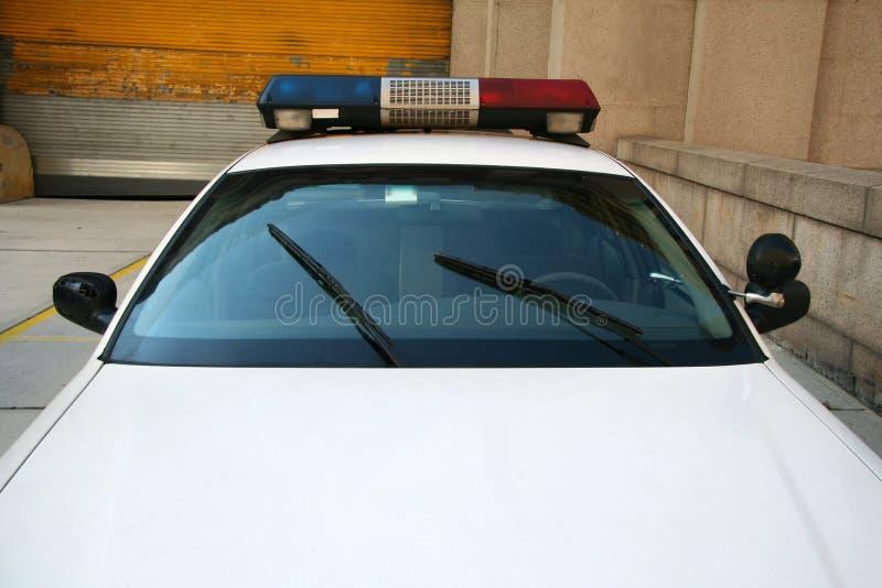 Carro de polícia de NYC fotografia de stock royalty free