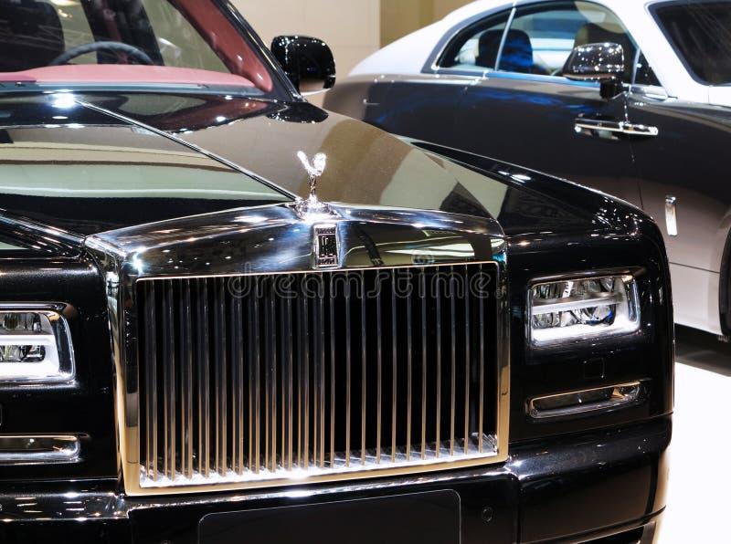 Carro de Rolls royce foto de stock