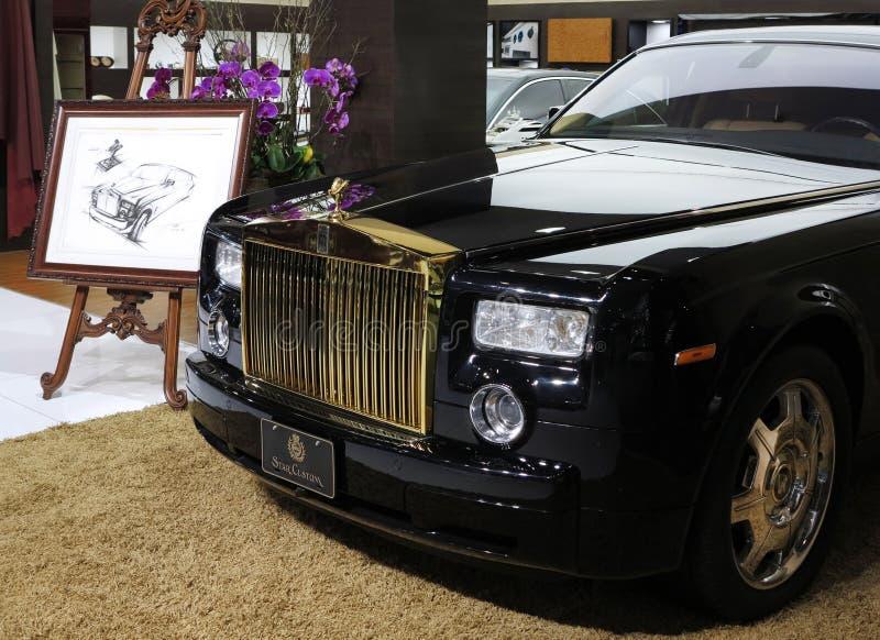 Carro de Rolls royce imagens de stock