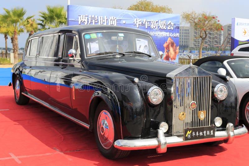 Carro de Rolls royce fotos de stock