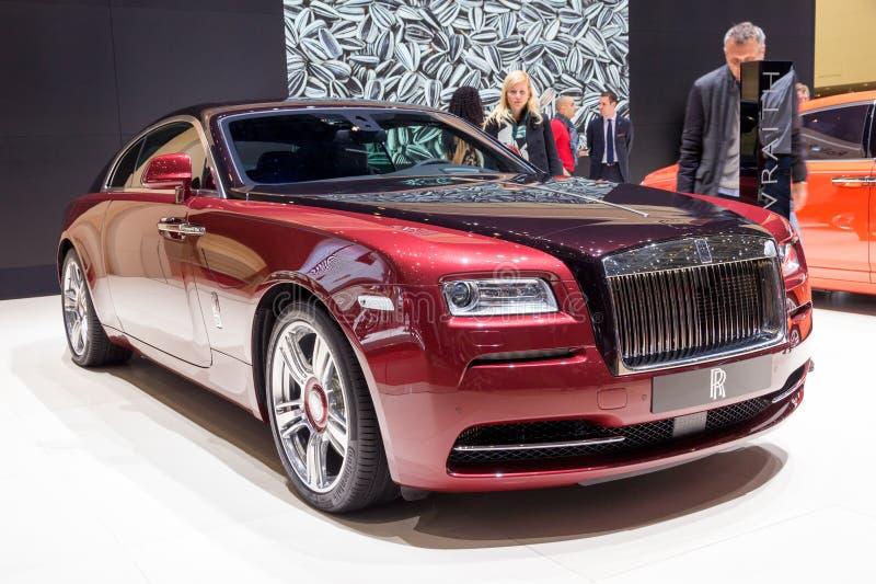 Carro de Rolls Royce fotografia de stock