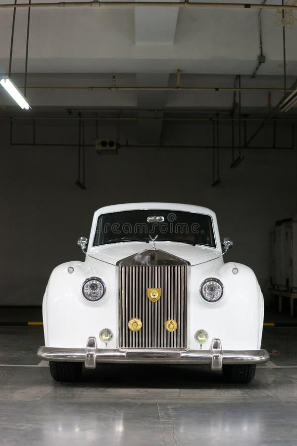 Carro de Rolls Royce do vintage fotografia de stock royalty free