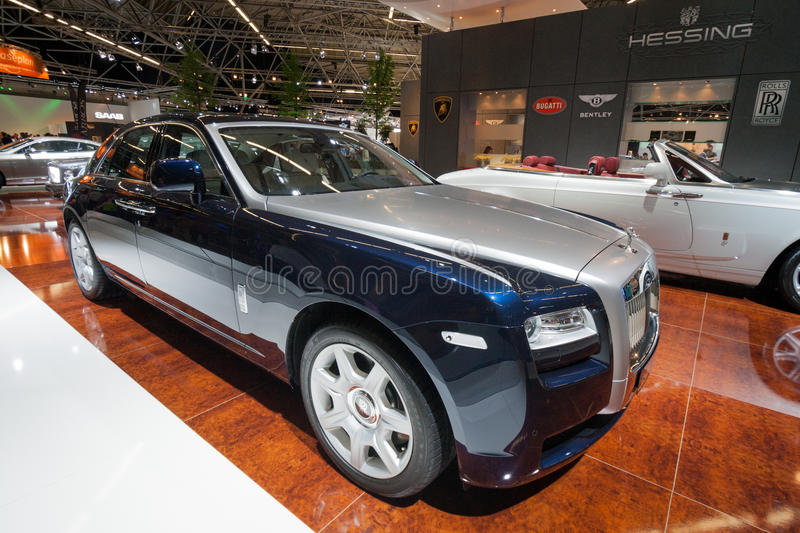 Carro de Rolls Royce Ghost foto de stock