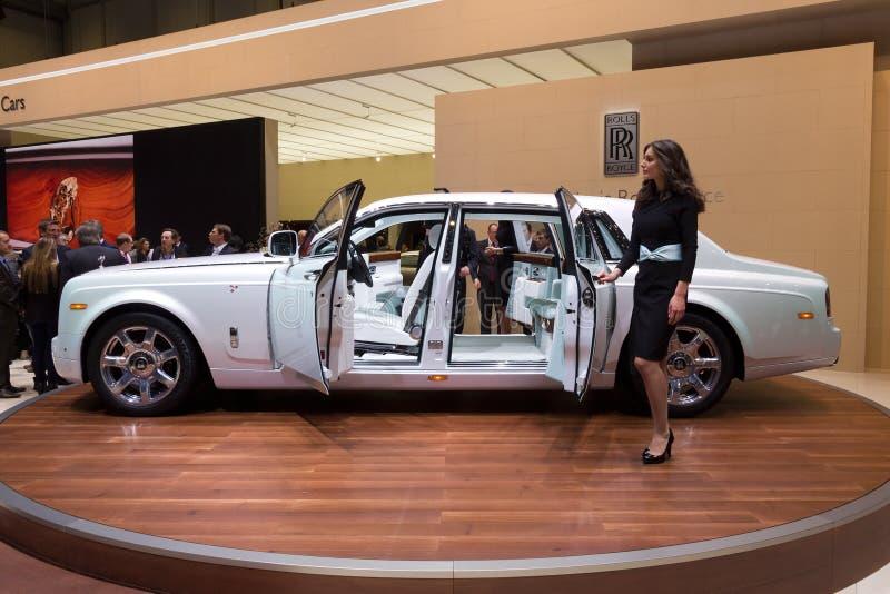 Carro de Rolls royce Phantom Serenity imagem de stock