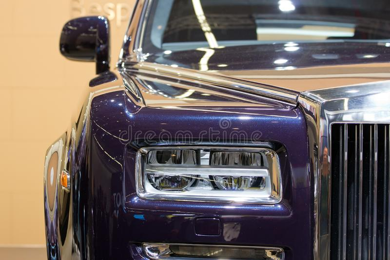 Carro de Rolls Royce Wraith imagem de stock royalty free