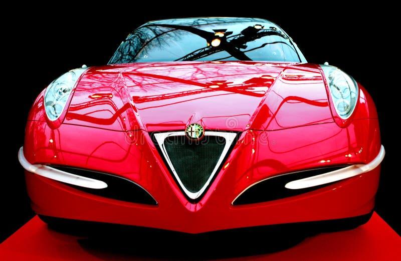 Carro de Romeo La Vola Concept do alfa fotografia de stock royalty free