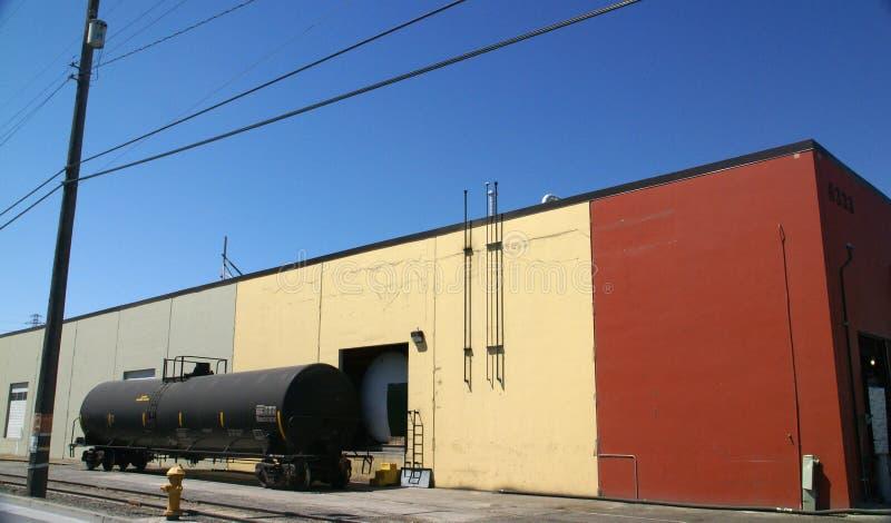 Carro de tanque preto imagens de stock