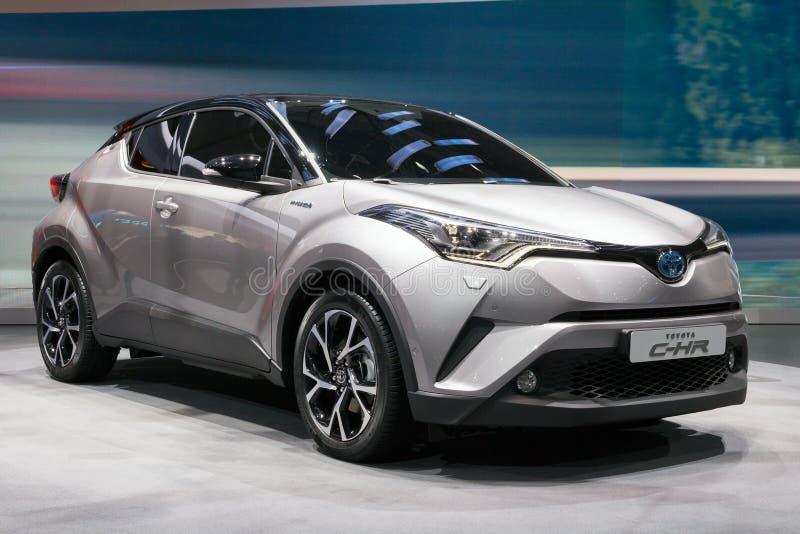 Carro de Toyota C-HR imagem de stock
