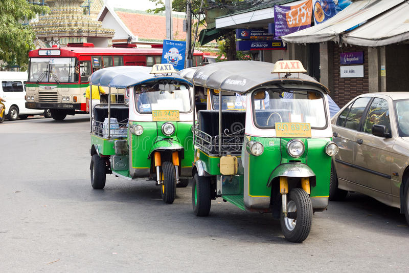 Carro de Tuk Tuk imagens de stock