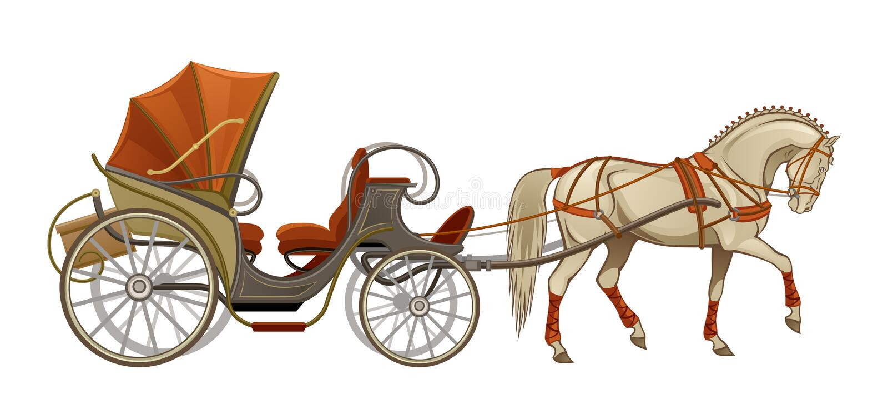 Carro del caballo libre illustration