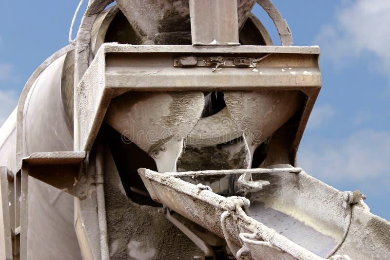 Carro del cemento imágenes de archivo libres de regalías
