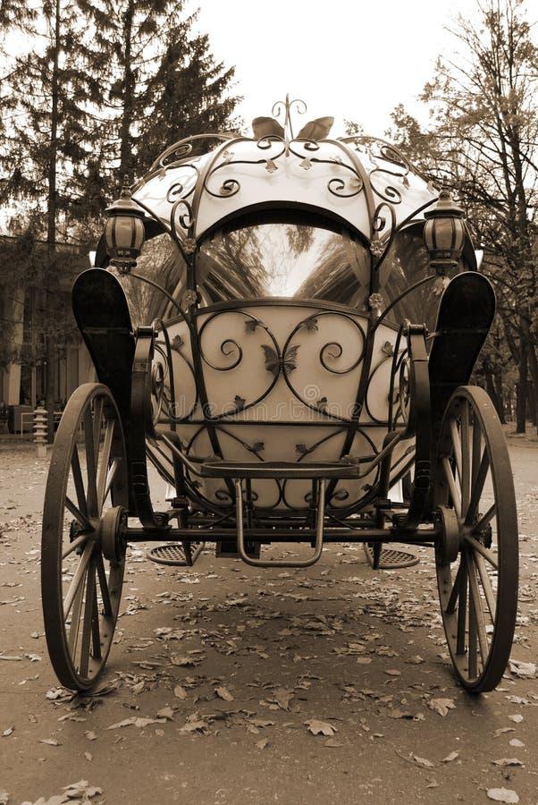 Carro Del Cuento De Hadas Imagen de archivo