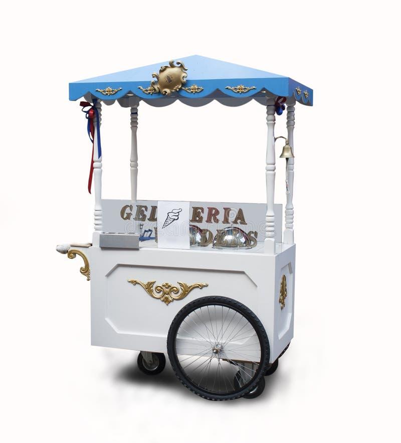Carro del helado fotos de archivo