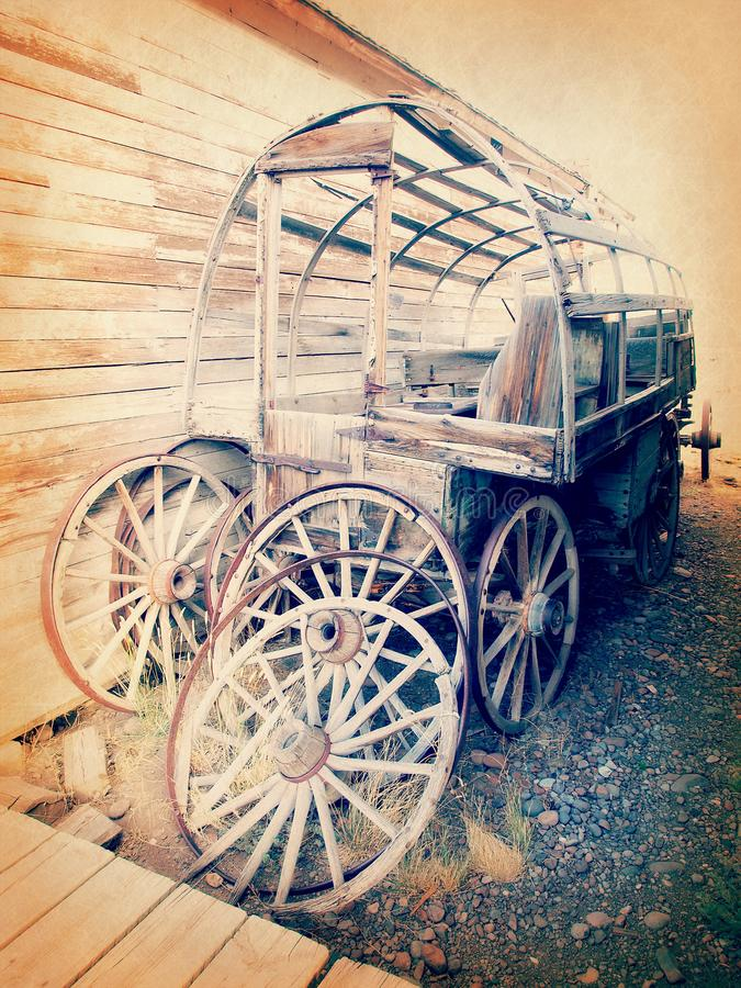 Carro del oeste salvaje imagen de archivo