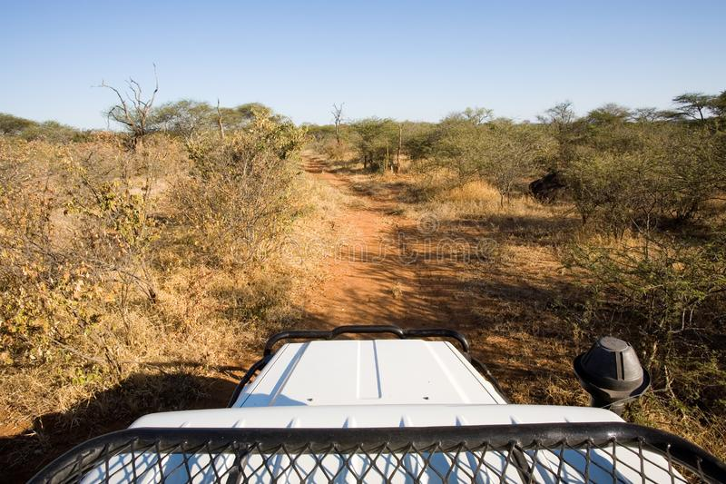 Carro del safari fotos de archivo libres de regalías