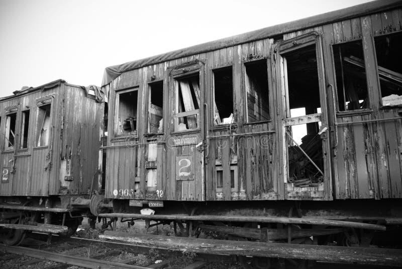 Carro del tren imagen de archivo libre de regalías