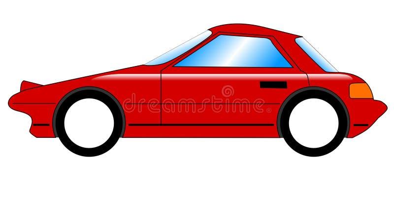 Download Carro desportivo ilustração do vetor. Ilustração de farol - 12803557