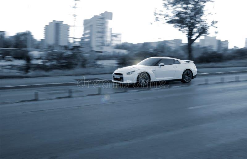 Carro desportivo fotografia de stock royalty free