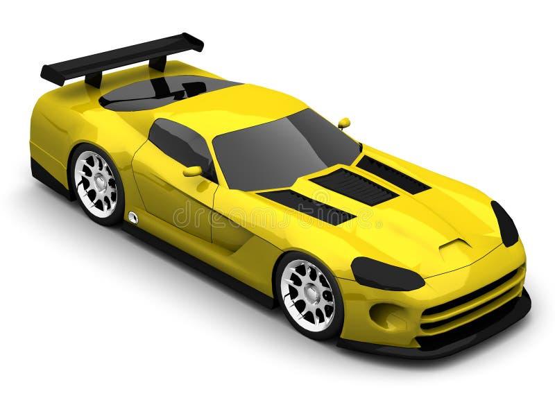 Download Carro desportivo ilustração stock. Ilustração de desempenho - 16869622