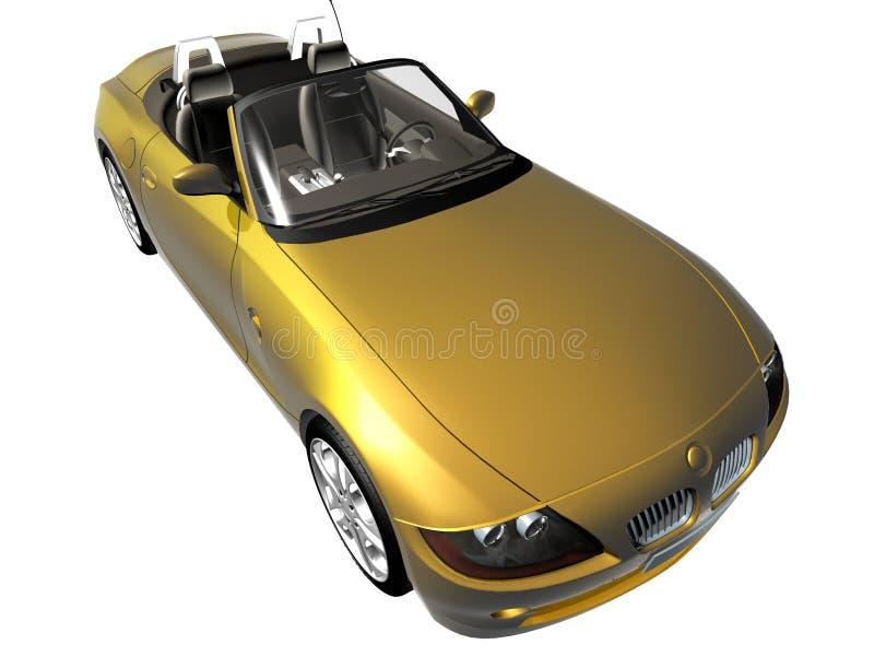 carro desportivo 3d ilustração do vetor