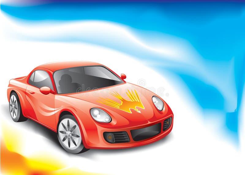 Carro desportivo ilustração stock