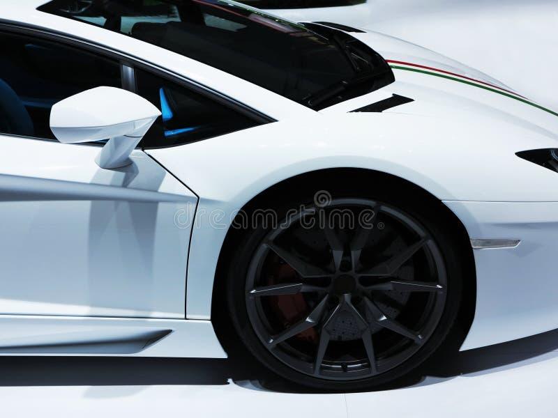 Carro desportivo de Lamborghini fotos de stock royalty free