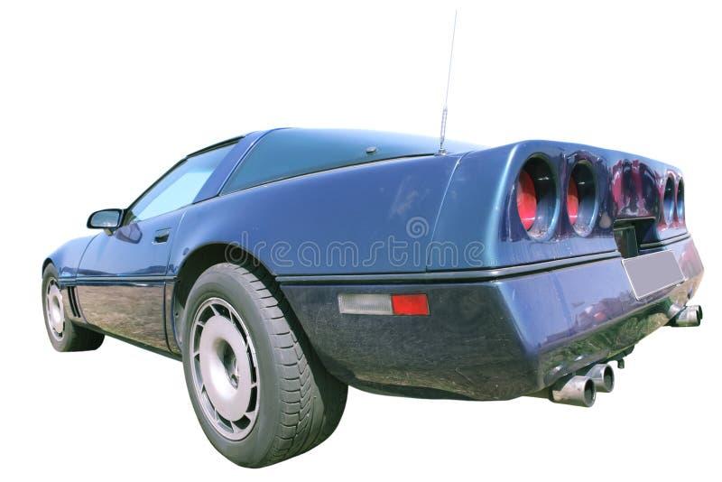 Carro desportivo do americano do vintage fotografia de stock royalty free