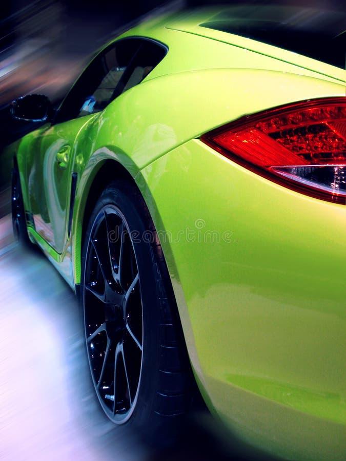 Carro desportivo moderno fotografia de stock
