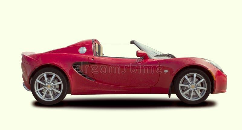Carro desportivo vermelho imagens de stock royalty free