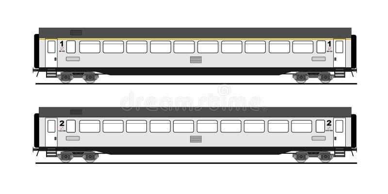 Carro do ônibus   ilustração royalty free