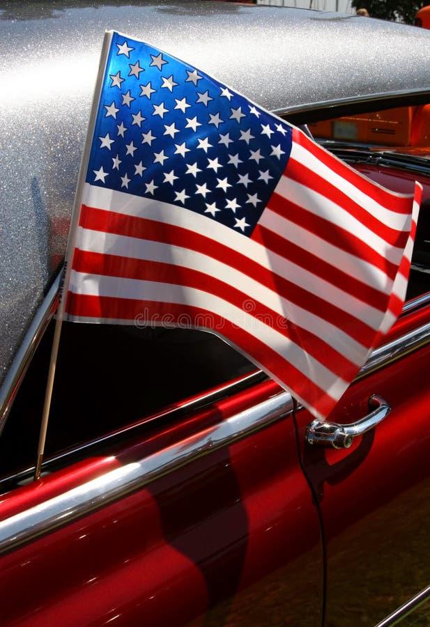 Carro do All-American imagem de stock