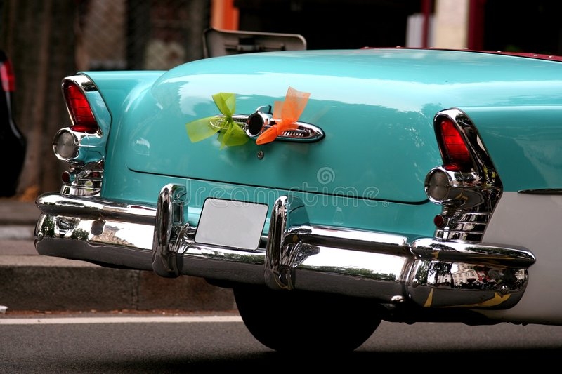 Carro do americano do vintage imagem de stock royalty free