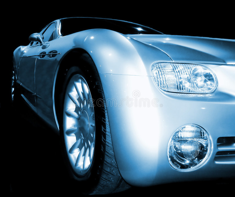 Carro do conceito   foto de stock royalty free