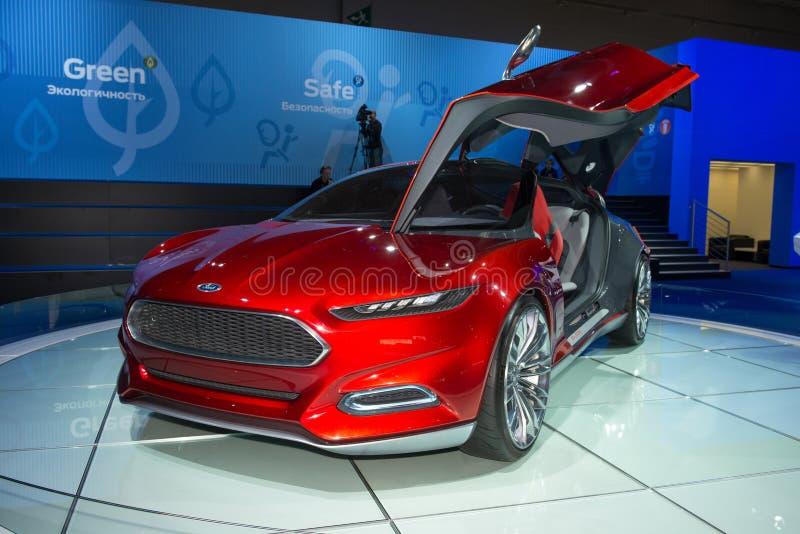 Carro do conceito de Ford EVOS fotografia de stock