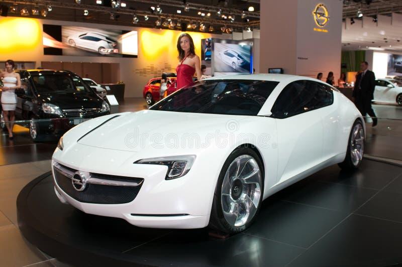 Carro do conceito de Opel Flextreme GT/E imagens de stock royalty free