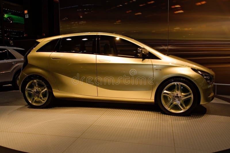 Carro do conceito do Benz de Mercedes foto de stock royalty free